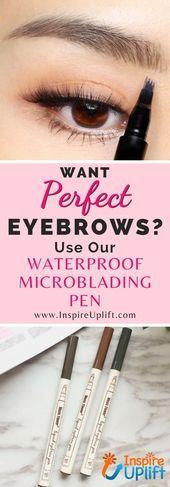 Eyebrow Tutorial For Thin Eyebrows Video Instructions #howtodisguiseyourself Eye...,  #Eye #E... #howtodisguiseyourself