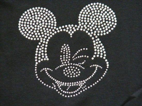 Mickey Mouse in hotfix | Kids | Pinterest | Vorlagen