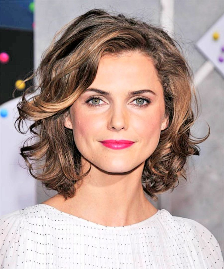 chin length haircuts chin length curly hair search coupes 9741