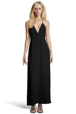 1153ff88486 Boutique Hannah Strappy Low V Neck Maxi Dress at boohoo.com ...