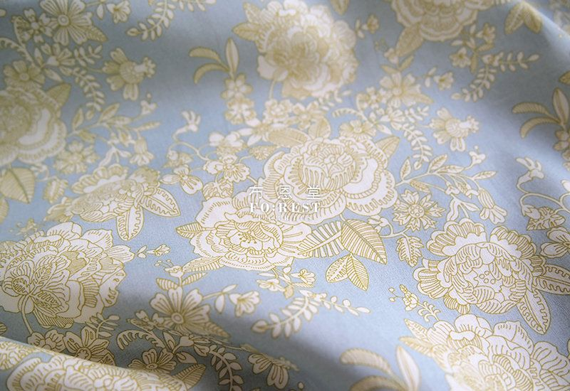 Cotton Tana Lawn Fabric - WILTSHIRE 50cm white Liberty of London