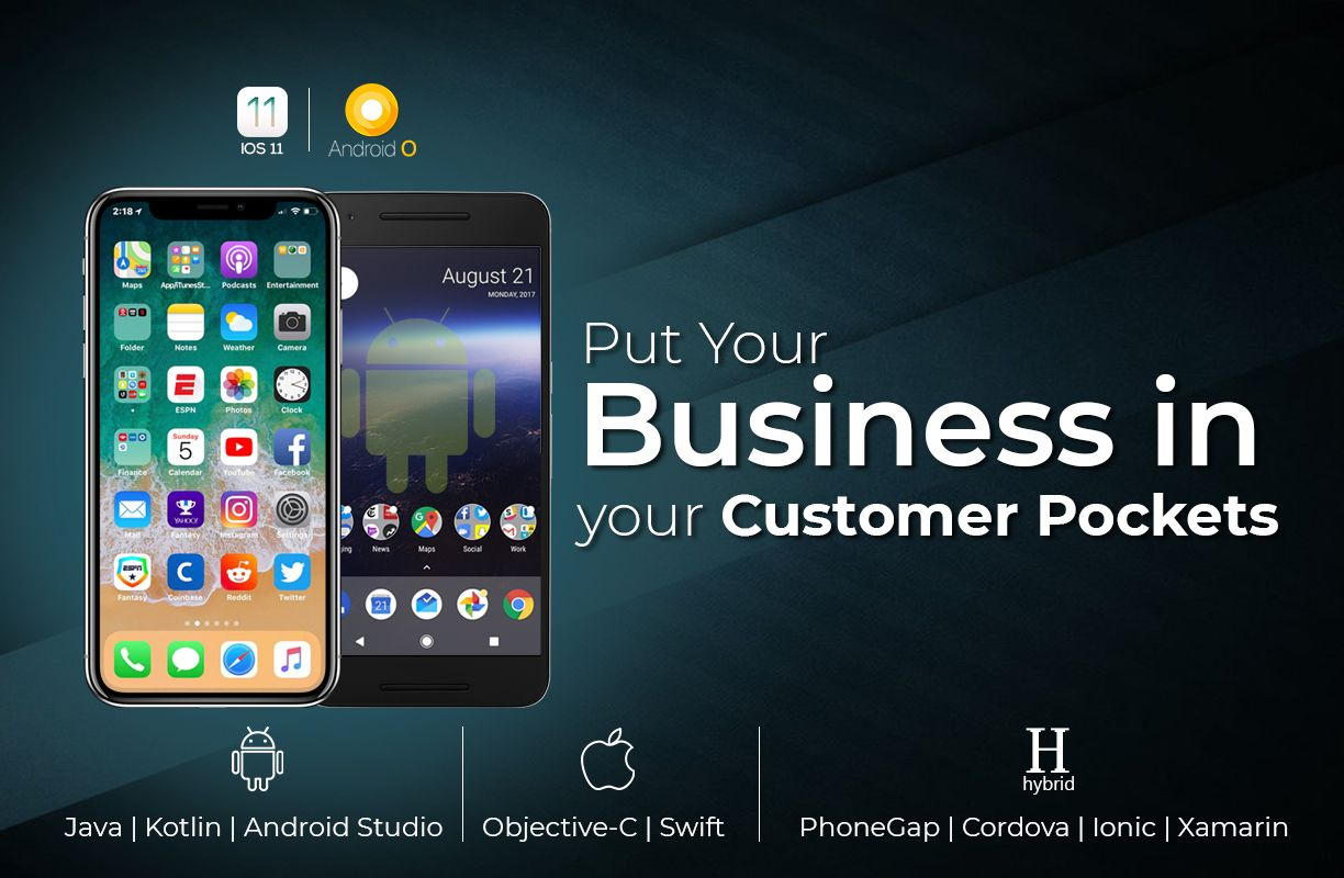 Grow Your Business through Effective Mobile Apps.