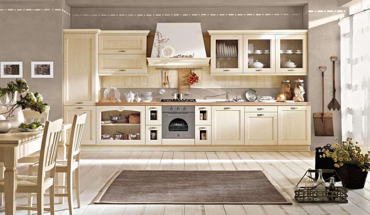 Cucine Classiche Lineari. Affordable Cucina Classica Con ...