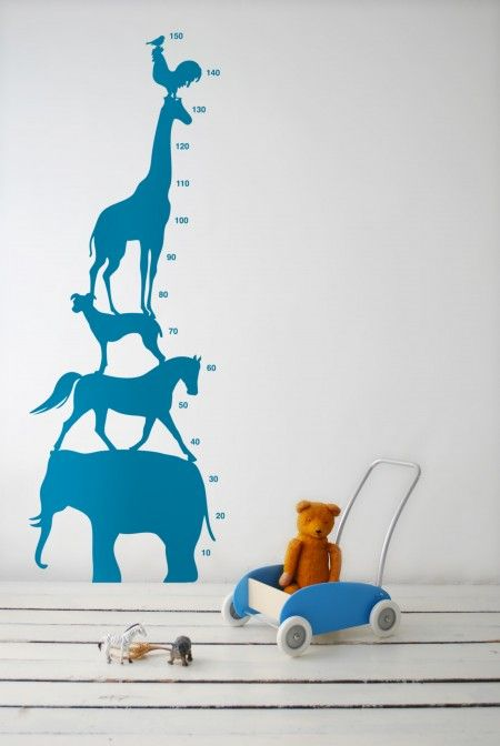 Growth Chart Wall Decal | House & Home