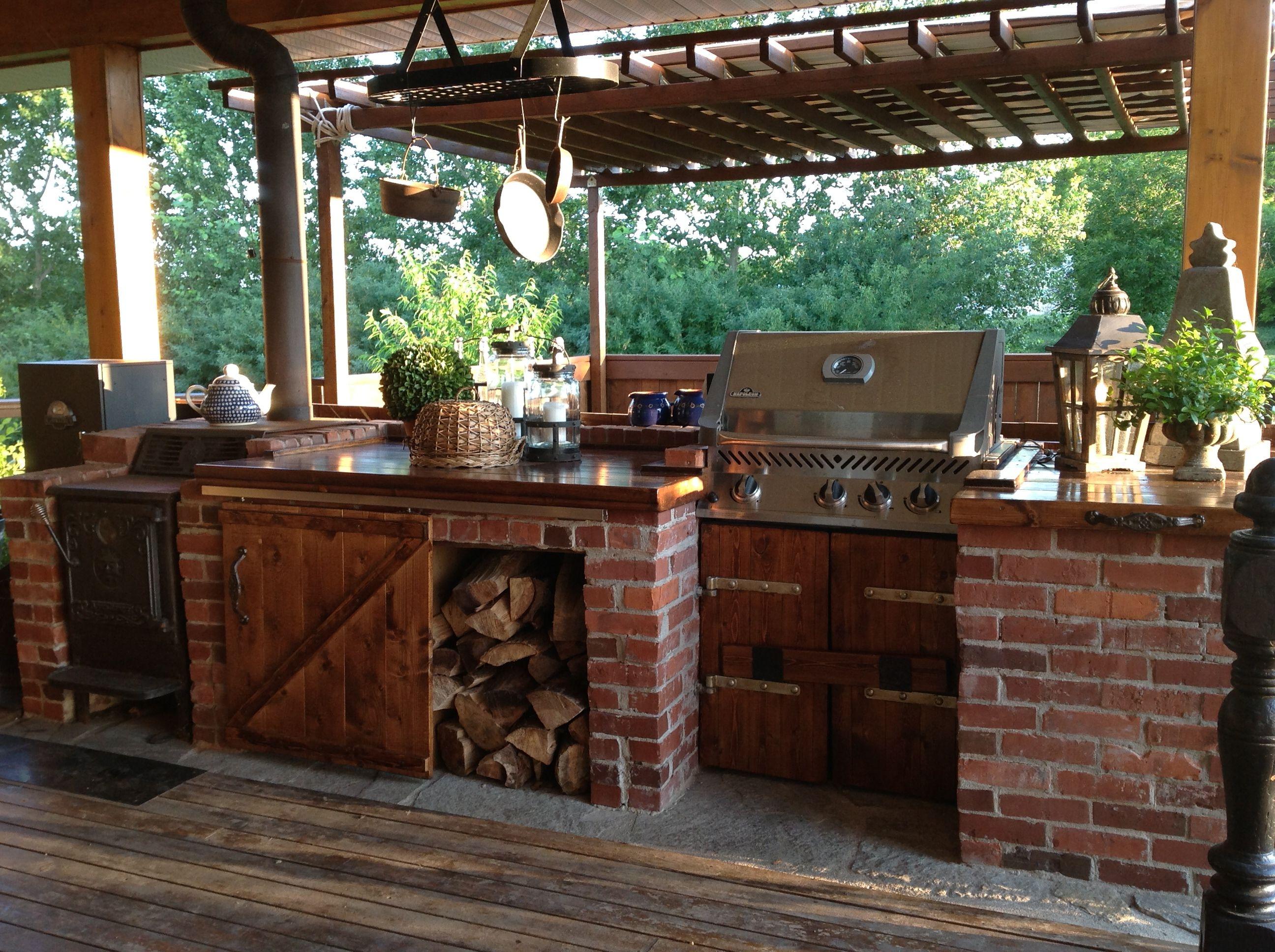 gemauerte kchen kchen in 2019 rustic country kitchens On gemauerte outdoorkuchen