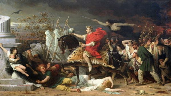 Image result for Crossing the Rubicon (Adolphe Yvon)