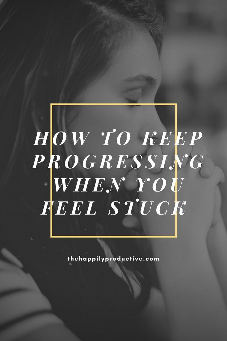How to keep progressing when you feel stuck. You want to keep progressing. You know that theres still so much to do to even get close to your goals. And yet you have no idea what your next step should be. So let me share my tips to help you progress when you feel stuck! #feelingstuck #progress #entrepreneurship