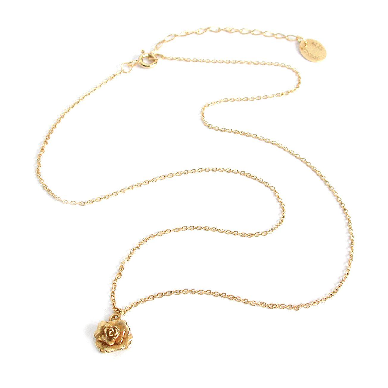 Alex Monroe   Classics   Rosa Damasca Necklace