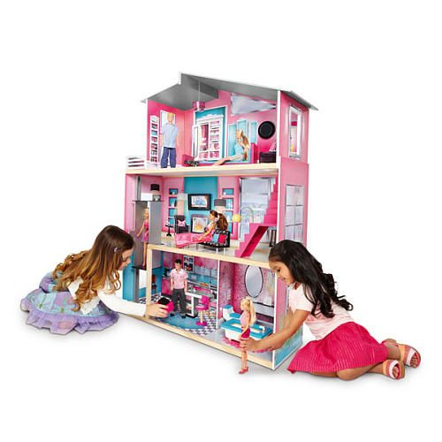 Imaginarium Modern Luxury Wooden Dollhouse Toys R Us