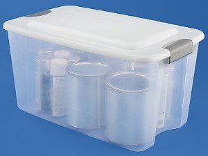 Clear Storage Boxes 20 X 13 X 12 By Uline 68 00 Clear Storage Boxes Sterilite Reg See Through Base Allows Easy Ide Storage Boxes House Materials Storage