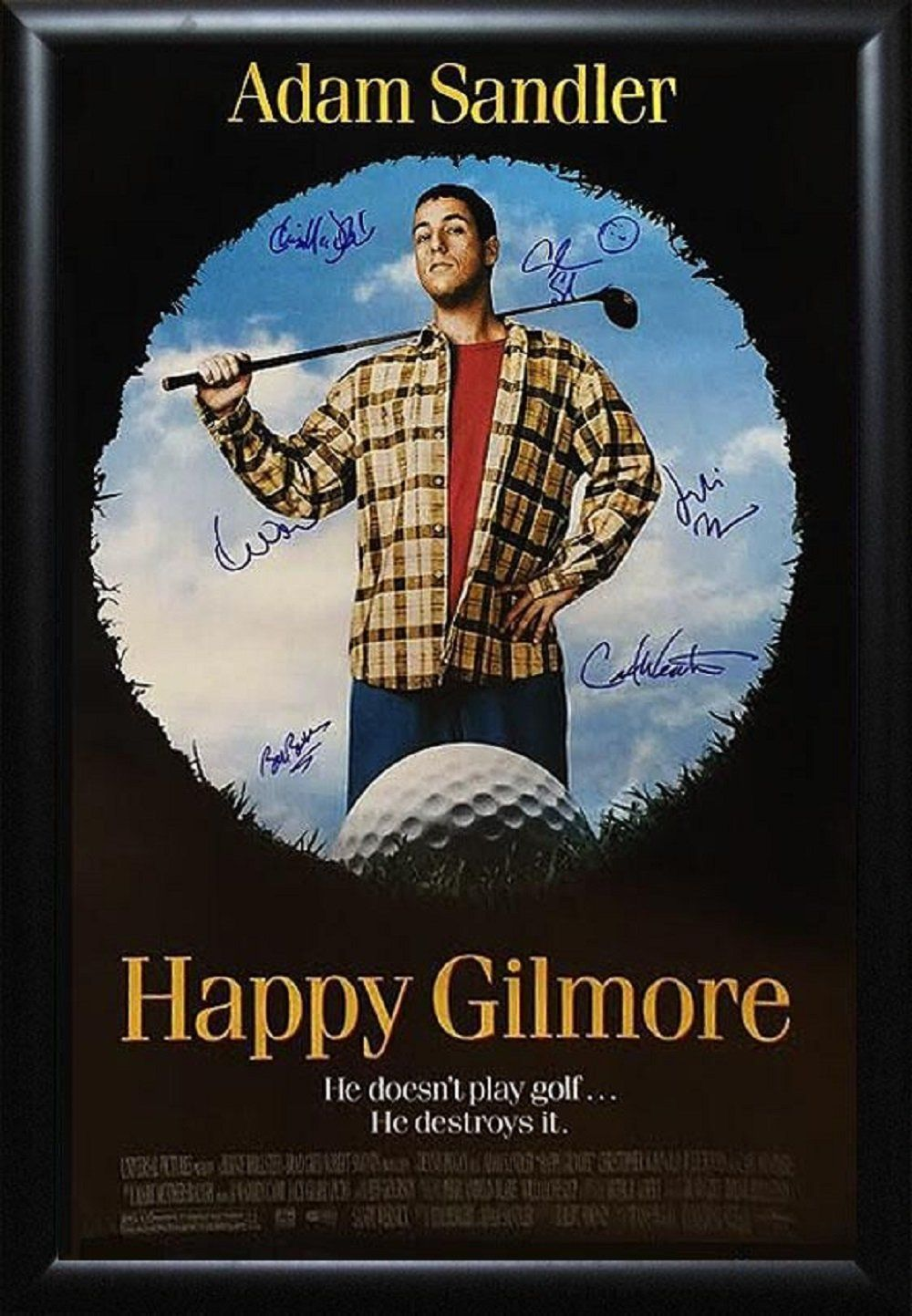 K9 Happy Gilmore Signed Shooter 8x10 Chris Mcdonald Proof