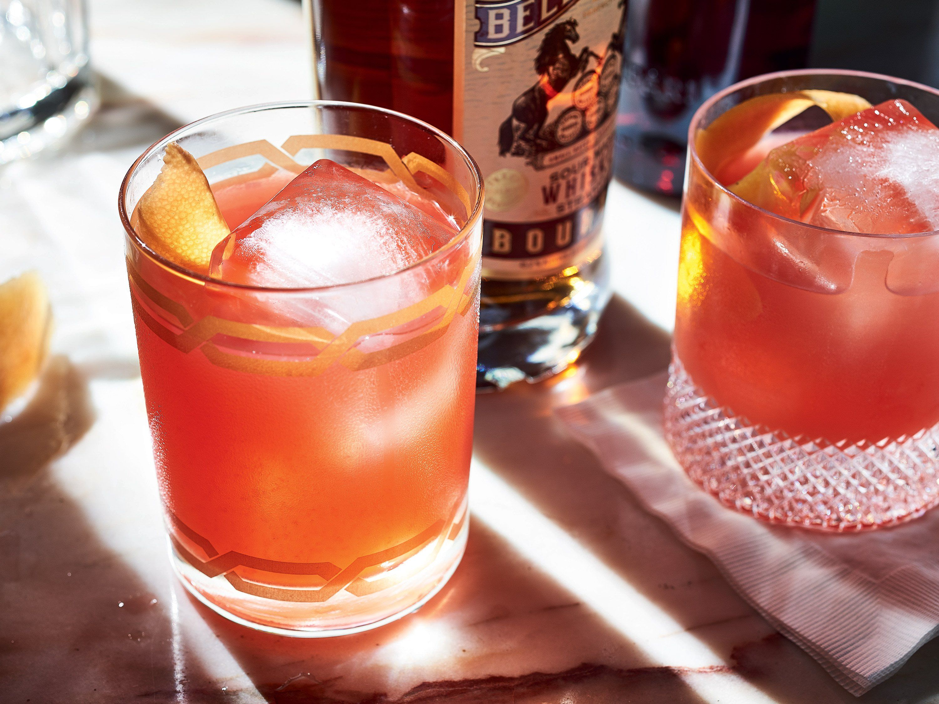 The Third Man Cocktail From Henrietta Red Inspired By Carol Reed S Film Of The Graham Greene Novel Starring Orson Wel Bourbon Cocktails Campari Bourbon Drinks