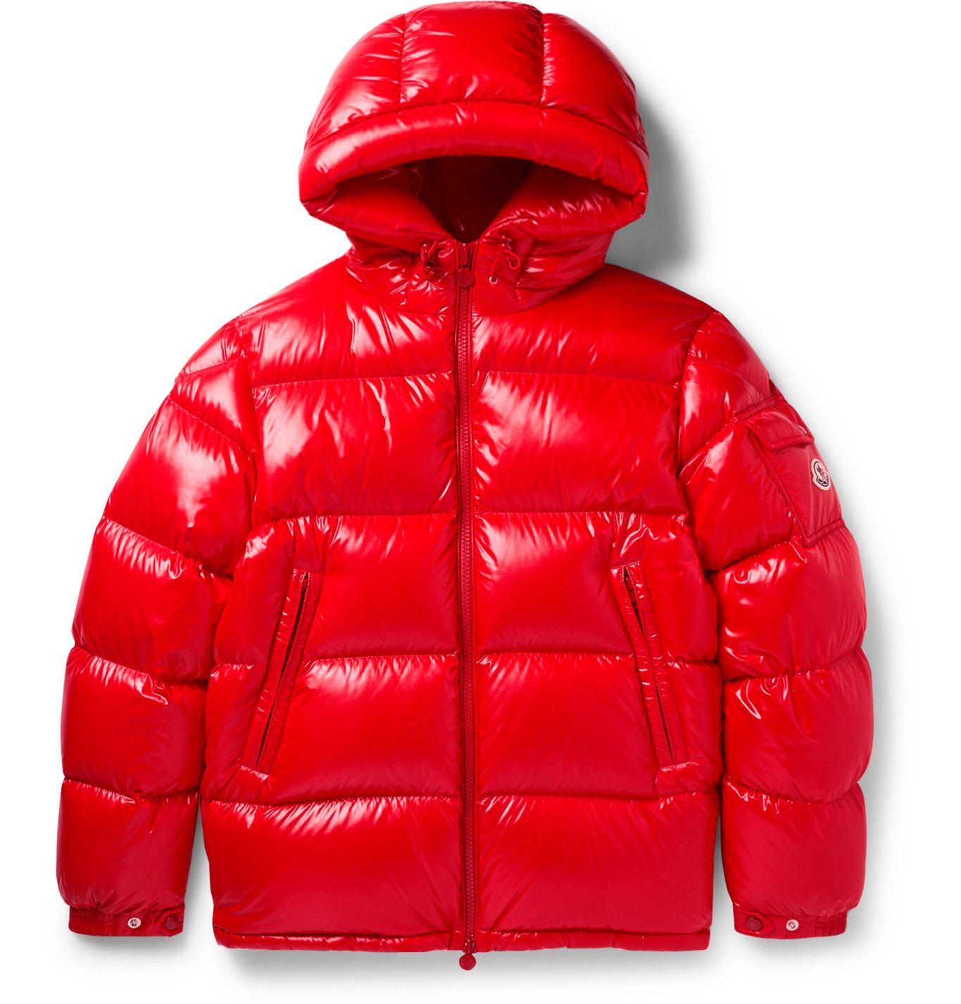 Ecrins Hooded Quilted Shell Down Jacket In 2021 Moncler Red Puffer Jacket Jackets [ 1426 x 1365 Pixel ]