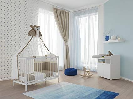 Polini Kids Kinderzimmer Set Simple KombiKinderbett mit