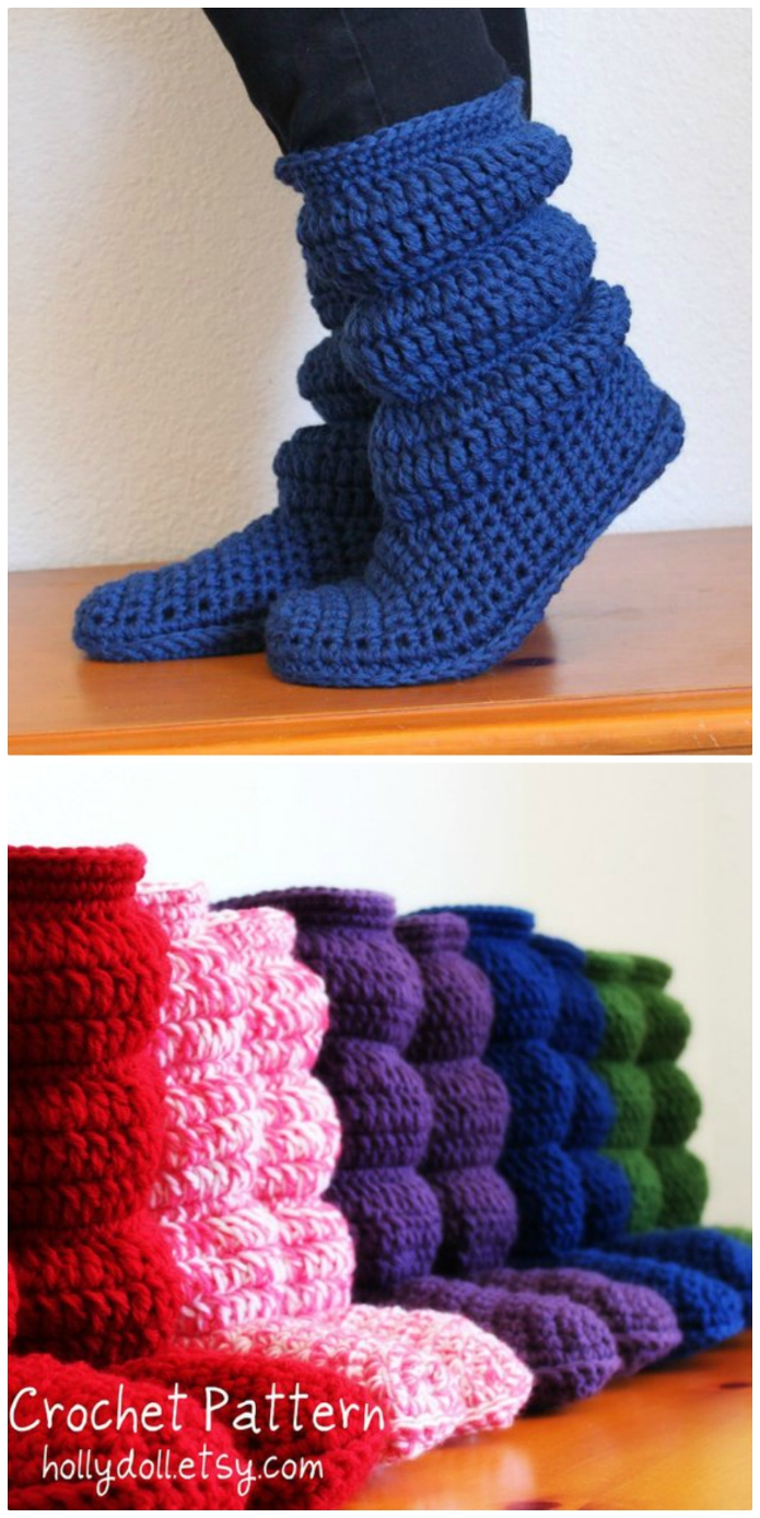Photo of Crochet Slouch Boots Pattern Is A Must Make | The WHOot
