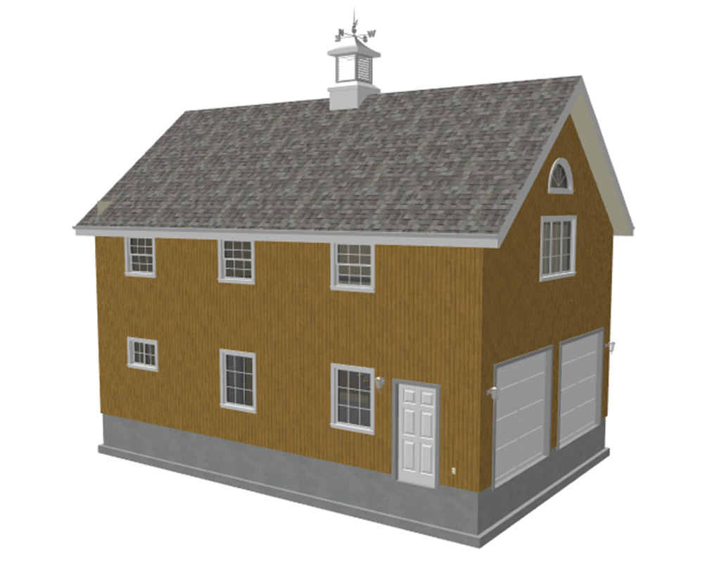Story Pole Barn Homes Story Barn Plans Blueprints - Barn home plans blueprints
