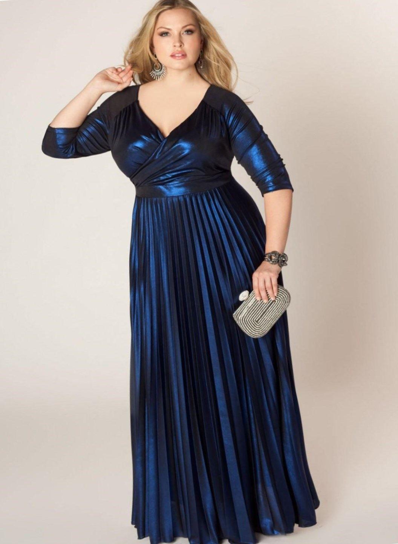 1dbeb2ddbff nice Вечерние платья для полных женщин (50 фото) — Лучшие фасоны и новинки  2016