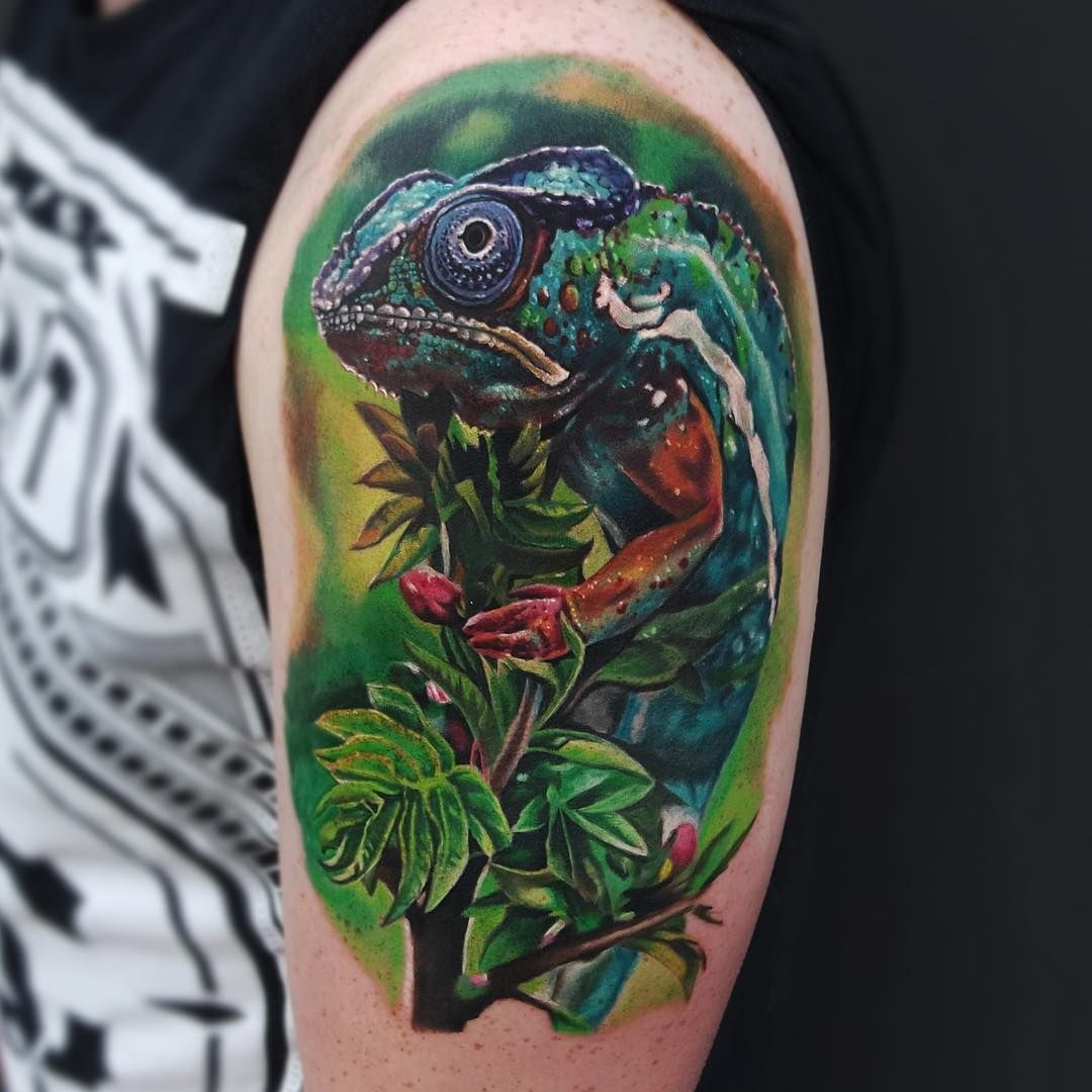 Chameleon Tattoo Finder: Pin By Heather Adams On Tattoos