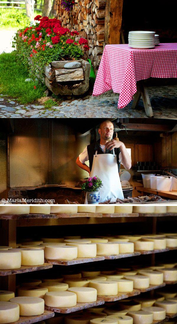 Pontresina, Switzerland   Cheesemaking and Brunch   FamilyFreshCooking.com   © MarlaMeridith.com