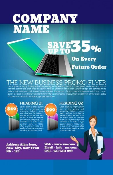 General Business Poster To Promote Any New Business It Is Perfect