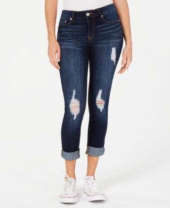 bb6507be4 Indigo Rein Juniors' Cuffed Cropped Skinny Jeans in 2019 | Products ...