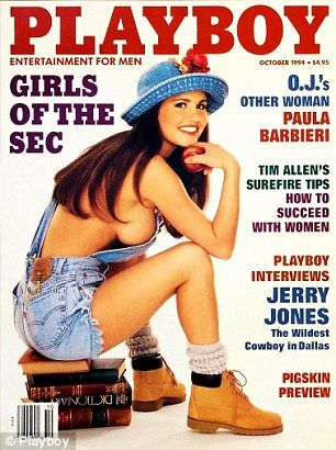 Paula Barbieri On The Cover Of Playboy Magazine October