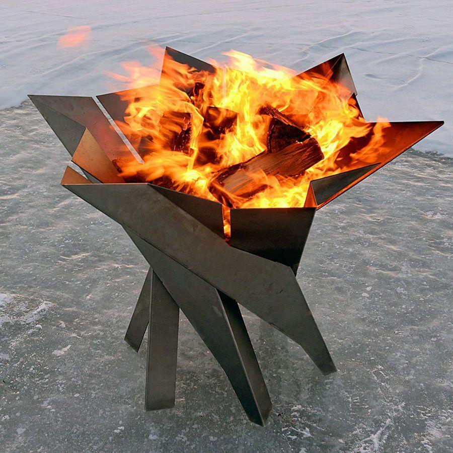 Design Feuerkorb Phoenix Blumenschale Feuerkorb bepflanzen