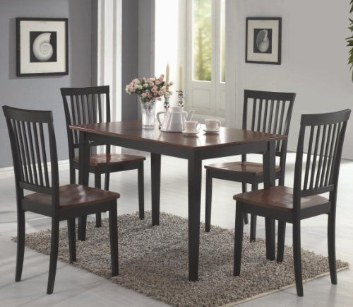 Oakdale 5 Pc Dining Table Set By Coaster By Coaster Home