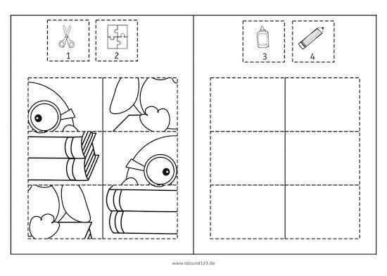 pinguin puzzles freebie wahrnehmung feinmotorik spa am lernen pinterest. Black Bedroom Furniture Sets. Home Design Ideas