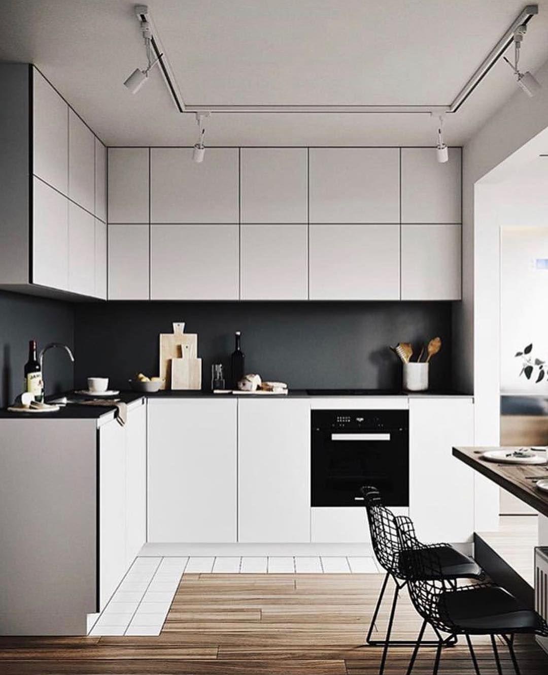 Kitchen Set Scandinavian: Apartment In #Kiev, Ukraine By