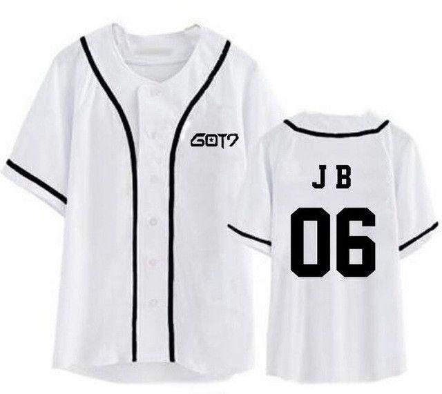 New Arrival Kpop Straykids Member Name Printing Black/white Baseball T Shirt For Summer Unisex Fashion Short Sleeve T-shirt Tops & Tees Women's Clothing