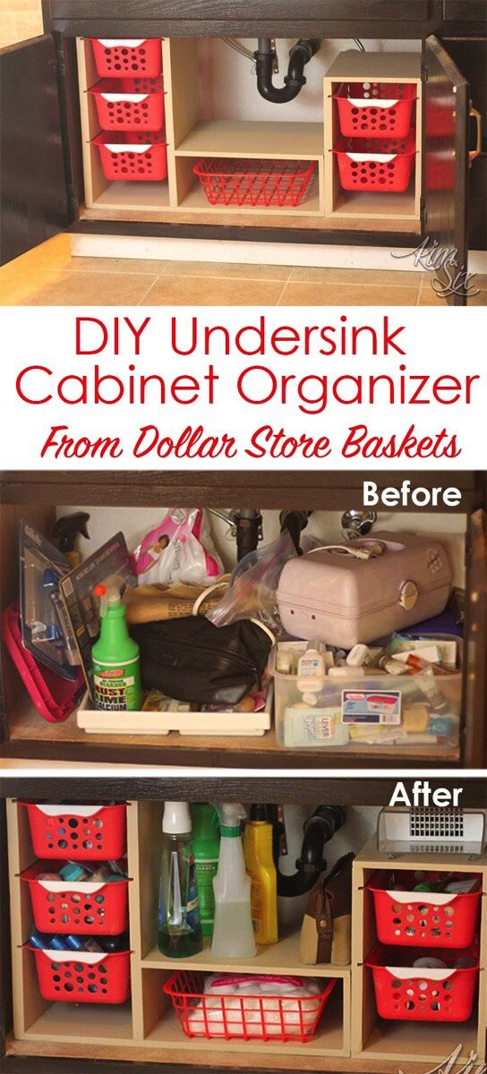 I'm a sucker for an organized kitchen. There are a ton of ready made cabinet organizers available, but most of them are costly. I've managed to find a few nice cabinet organizers for an… #cabinetorganizers