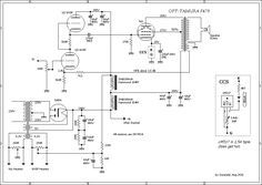 Schematic For 6l6 Single Ended Amplifier With 6n3p Srpp