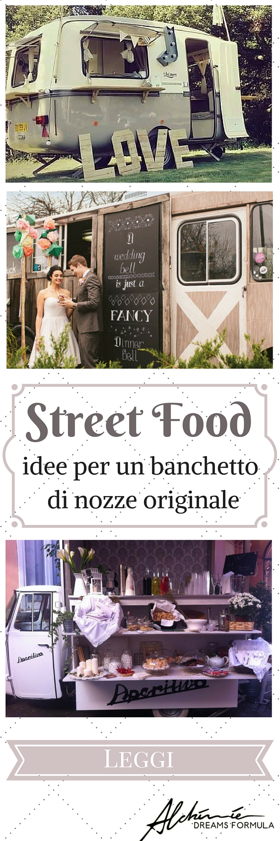 Street food: idee per un banchetto di nozze originale