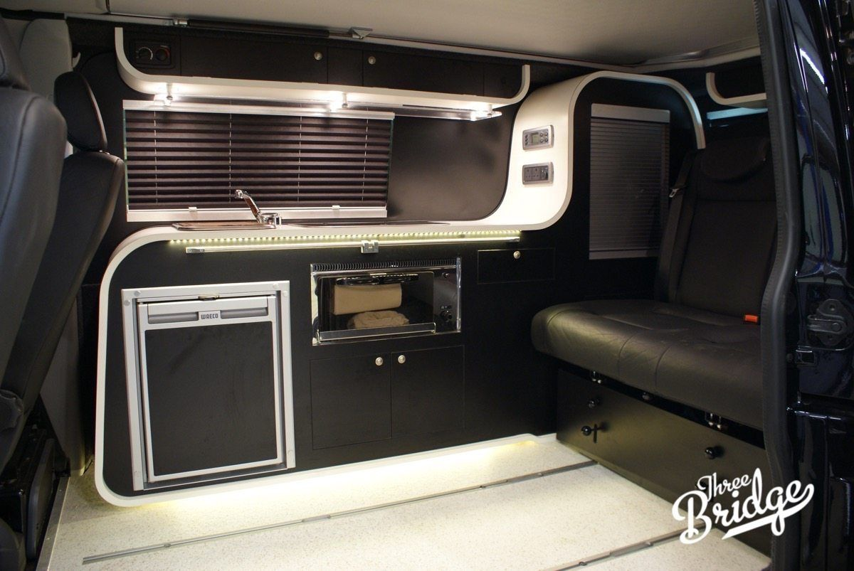 VW Transporter T5 T6 Camper Conversion - Infinity 2 Interior ...