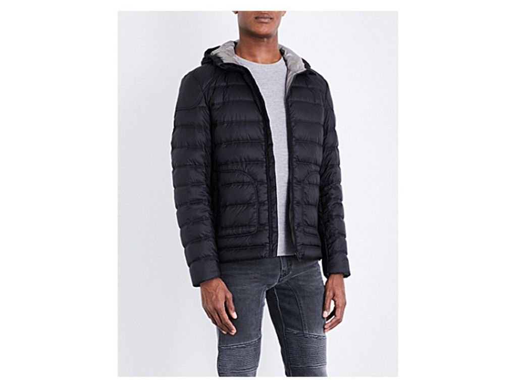 BELSTAFF Hooded quilted jacket