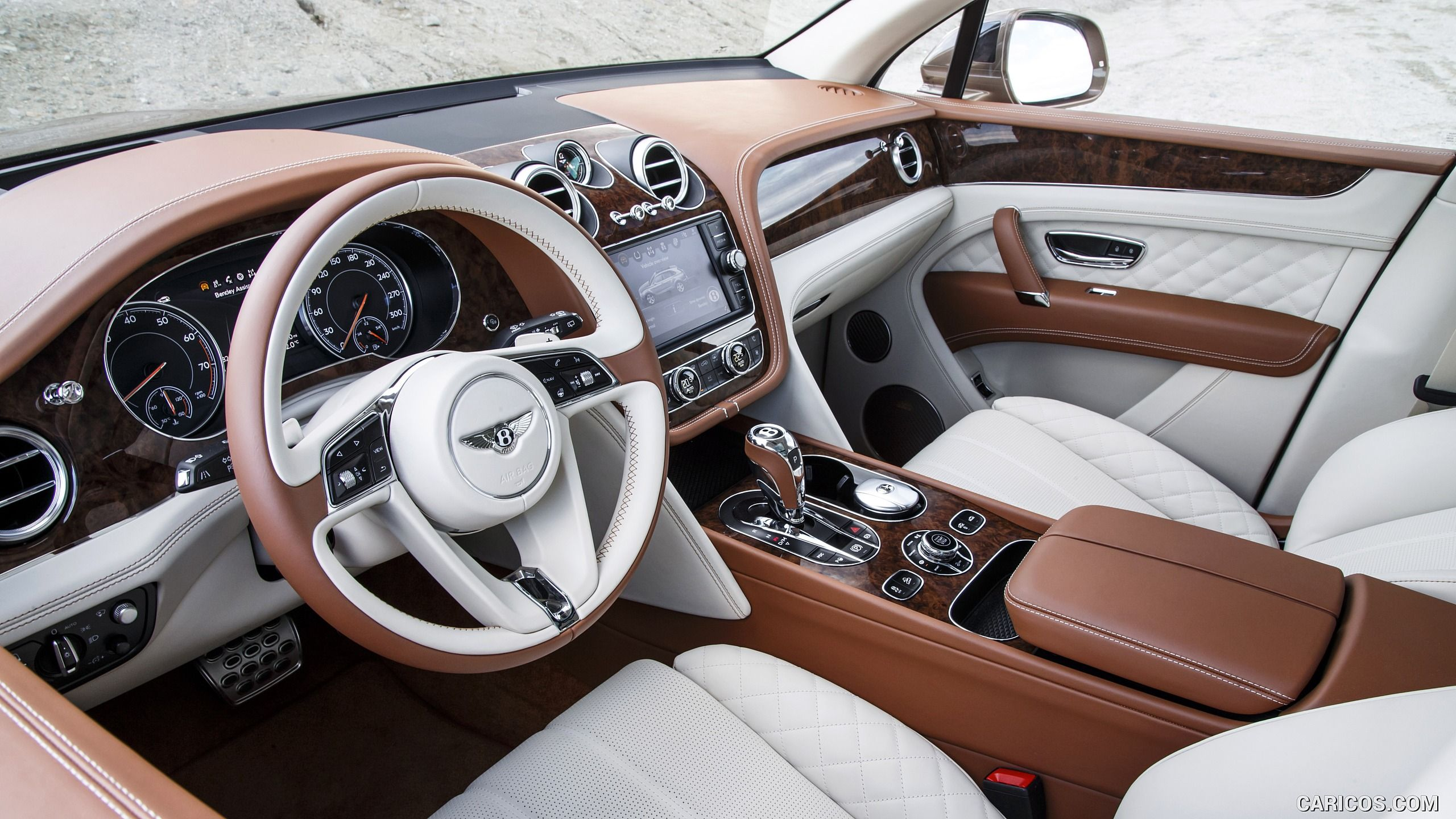 2017 Bentley Bentayga Interior Front Seats Hd