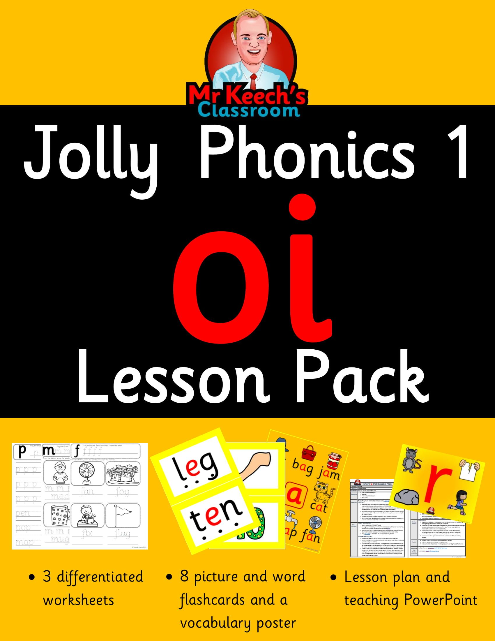 This Oi Lesson Pack Contains Everything You Need To Teach