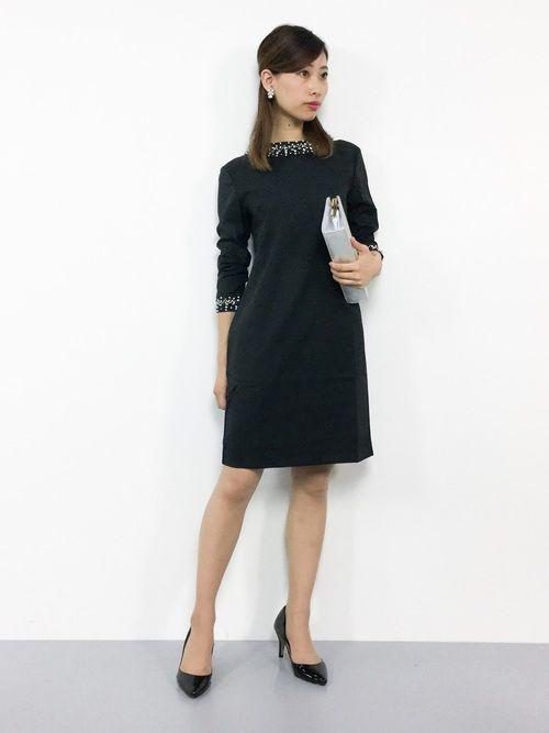 44f55bda51e72 KII(ZOZOTOWN)|PourVousのドレスを使ったコーディネート