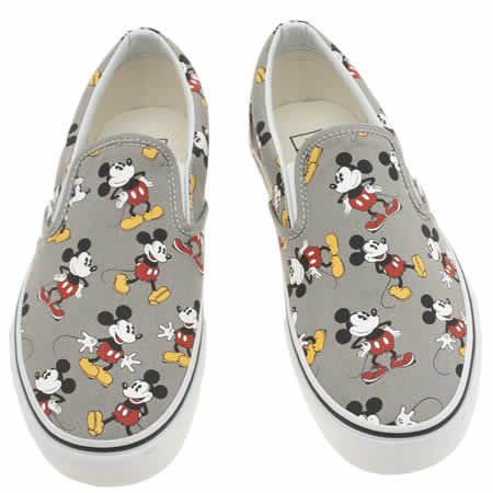 vans disney mickey mouse slip on 1
