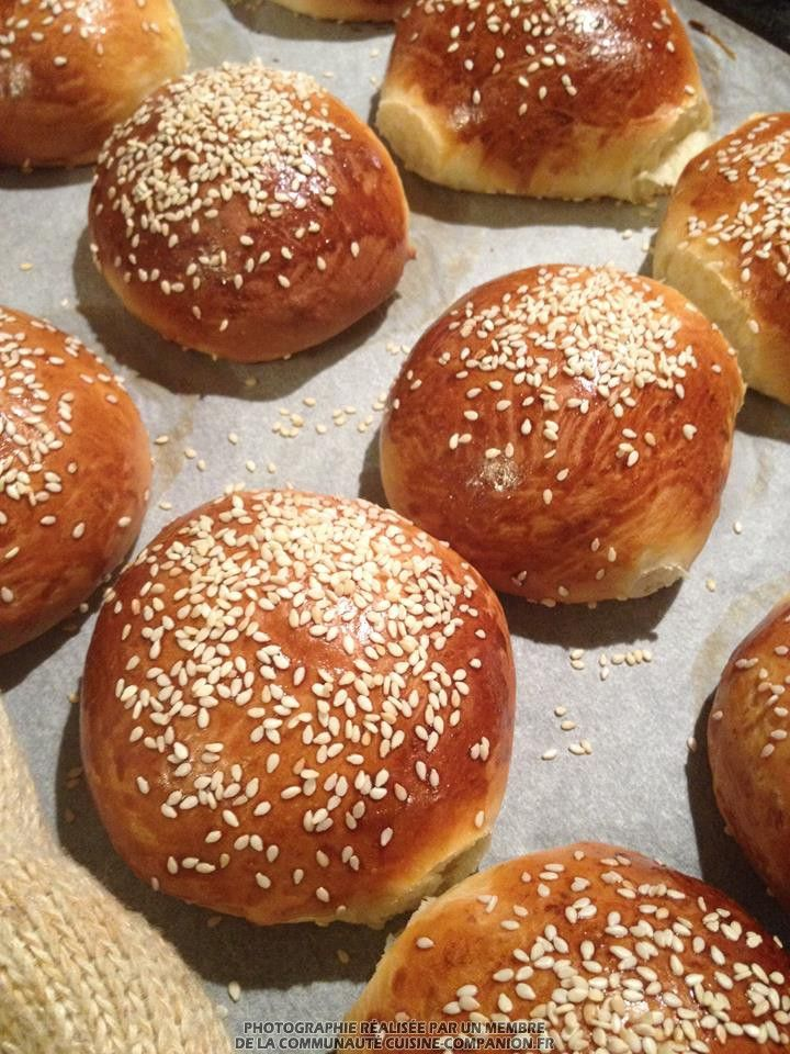 Cuisine Companion Recette | Pains A Burger Thermomix Adapte Au Companion Vir Ginie Recette