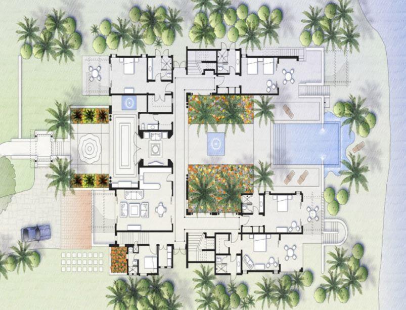 Pin Oleh Ginger Allen Di House Plans Desain Ritel Desain