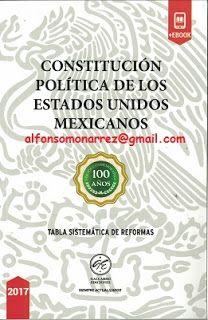 LIBROS EN DERECHO: CONSTITUCIÓN POLÍTICA DE LOS ESTADOS UNIDOS MEXICA...