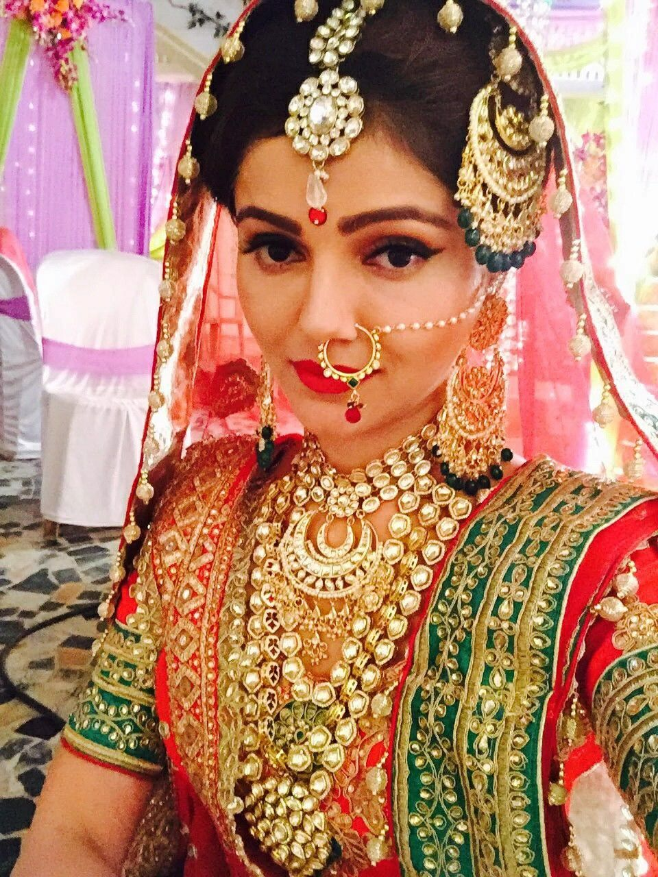 Rubina dilaik | IndianTV celeb | Indian bridal fashion