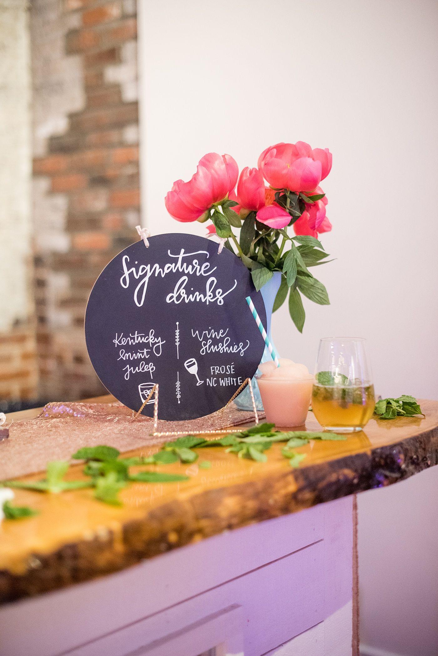 Mikkel Paige Photography Wedding signature drinks, May