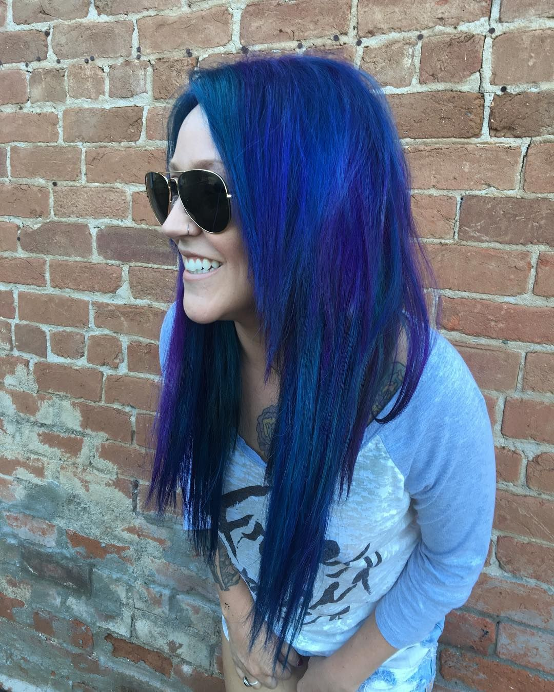 35 Breathtaking Blue and Purple Hair Ideas — Fantasy Colors to Brighten Your Life