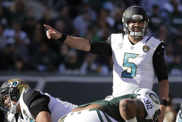 Jacksonville Jaguars Blake Bortles Leonard Fournette Key In Blasting Of Houston Texans Jacksonville Jaguars Blake Bortles Latest Sports News
