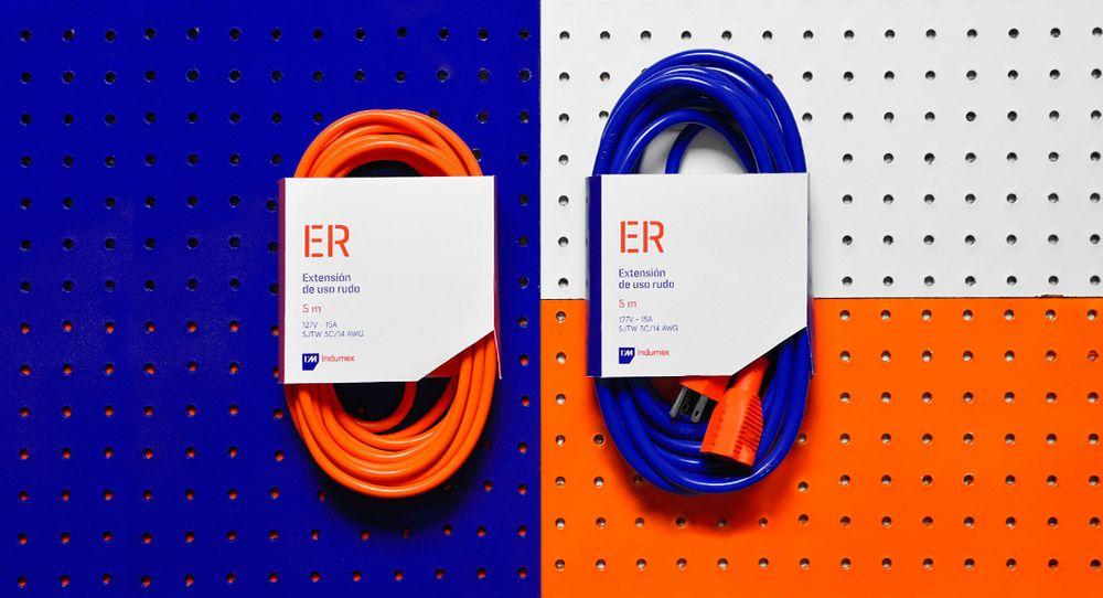 Indumex Blue Orange Orange Blue Packaging Design Branding