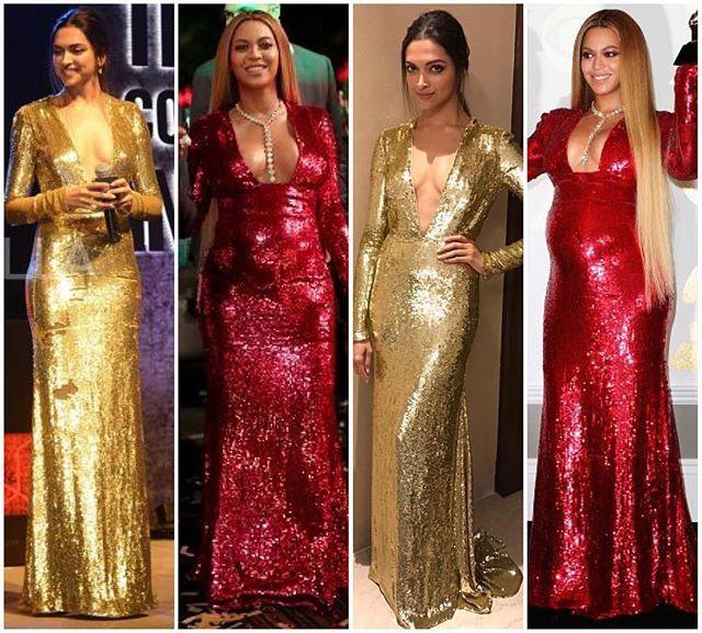 Deepika Padukone VS Beyonce !! Fashion Face Off ! ⚡️⚡️ ...