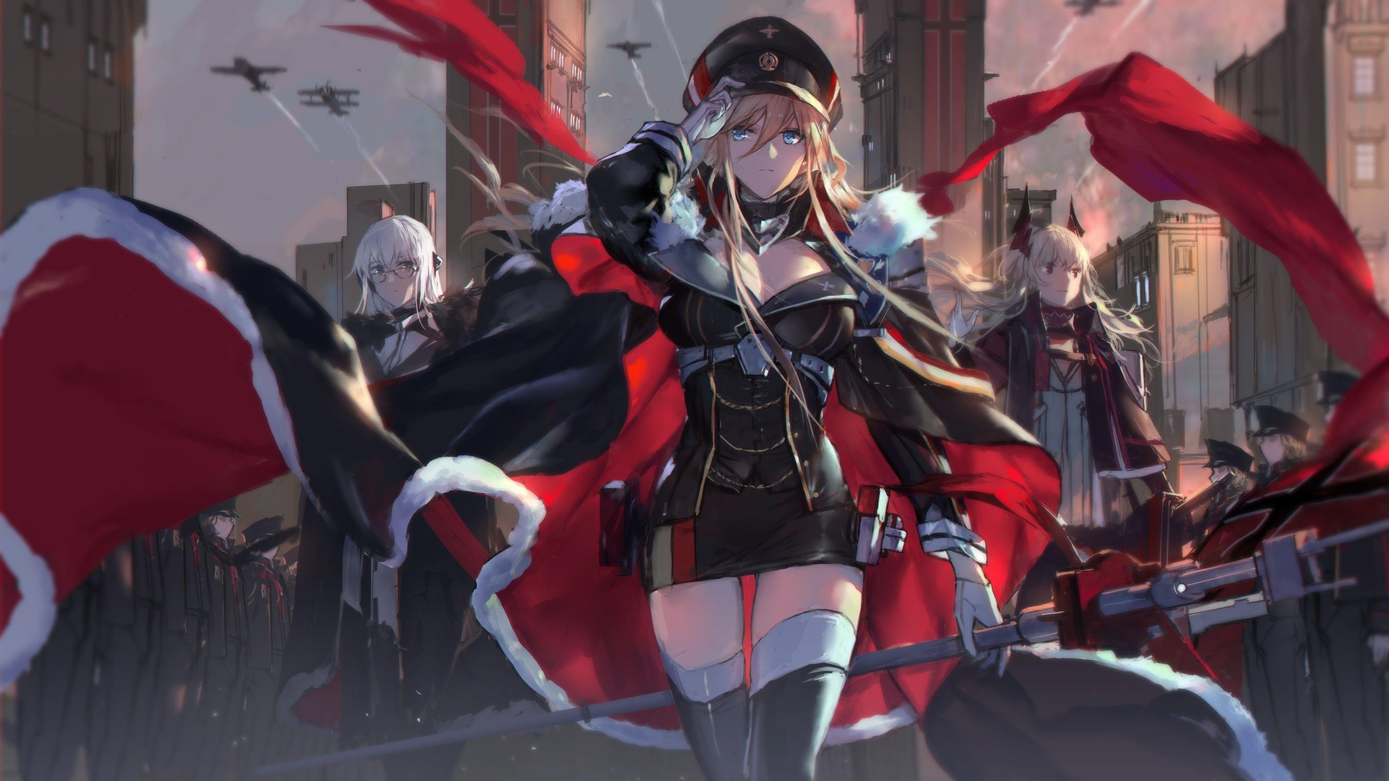 Anime Azur Lane Hood (Azur Lane) Wallpaper (Dengan gambar